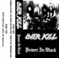 Descargar Overkill - Power in Black [1983] MEGA