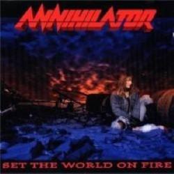 Descargar Annihilator - Set the World on Fire [1993] MEGA
